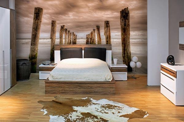 Papier peint chambre quelles sont les couleurs que vous devez choisir - Papier peint de chambre a coucher ...